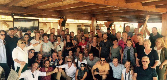 Vanderwal & Joosten vierde zilveren jubileum met personeel en partners in Marrakesh