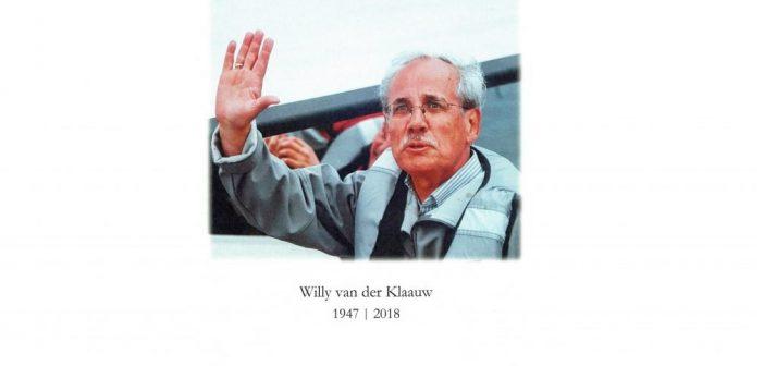 Oud beursman Willy van der Klaauw overleden