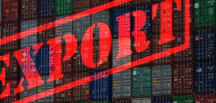 Export krimpt ruim 2 procent in december