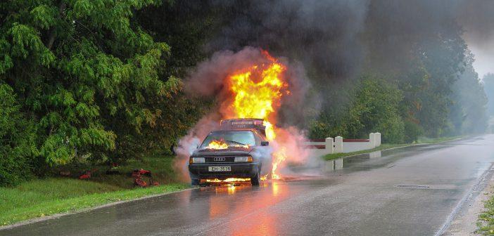 CVS registreert recordaantal  autobranden dit jaar: 2.927