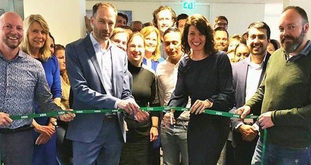 Medewerkers HDI Global Specialty nu op één etage in Rotterdam